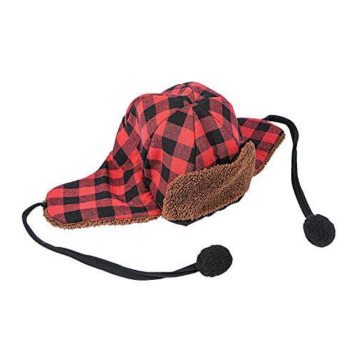 Fun Express Buffalo Plaid HAT -