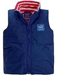 JoJo Maman Bebe Little Unisex Child Fleece Lined Gilet (Toddler/Kid) - Navy