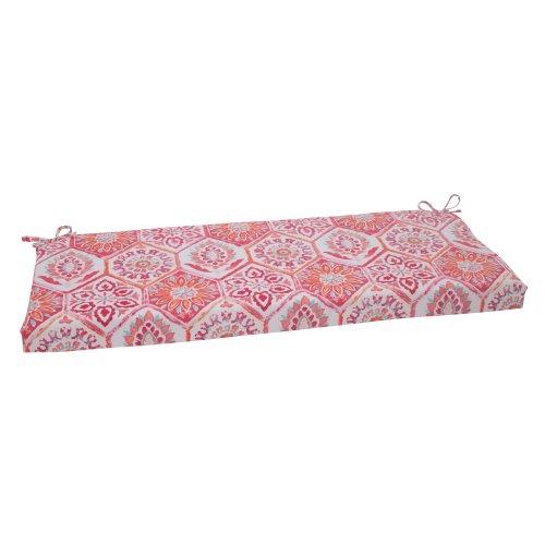 Pillow Perfect Outdoor/ Indoor Summer Breeze Flame Bench
