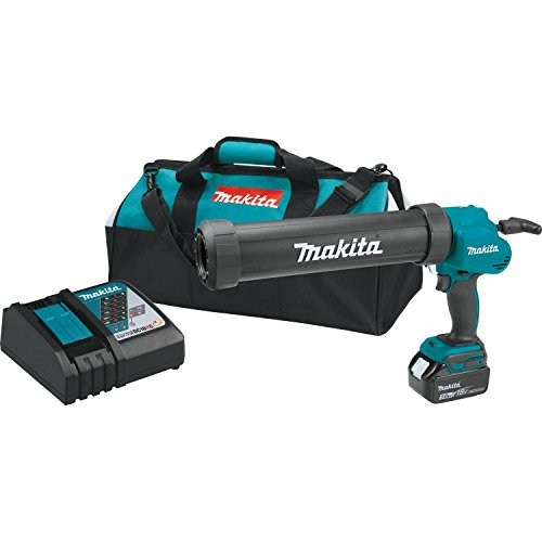 (Makita XGC01T1C 18V LXT Lithium-Ion Cordless 29 Oz. Caulk & Adhesive Gun Kit (5.0Ah),)