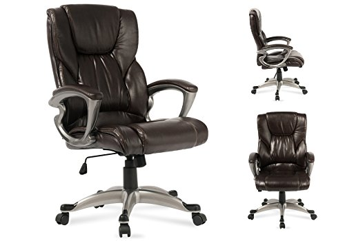 Executive Leather Office Chair Computer Work Desk High Back (Fits All Executive Conference Chair)