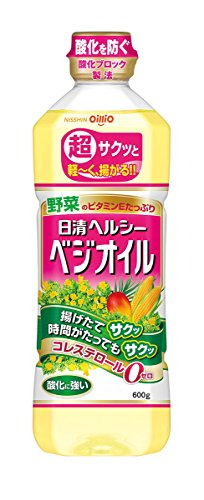 600gX10 pieces Nisshin Healthy Veggie oil by Nisshin Oillio