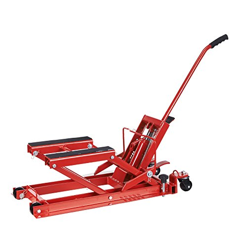 Hydraulic Motorcycle Lift Truck : Orion motor tech lbs hydraulic jack lifts and stands