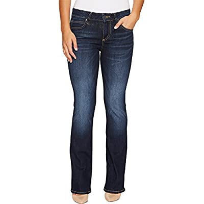 Discount KUT from the Kloth Womens Petite Natalie Kurvy Bootcut In Admirably w/EURO Base Wash for sale
