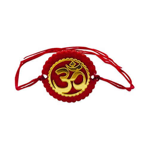 100Yellow® Raksha Bandhan OM Rakhi Band for Brother/Kids/Bhaiya-Set of 3 (B08CKYFFVC) Amazon Price History, Amazon Price Tracker