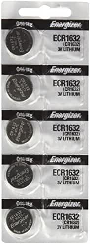 Energizer CR1632 3 Volt Lithium Coin Battery 10 Pack (2 packs of 5)