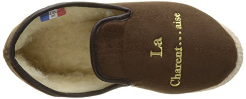 Adulte Cambrai Bas Chaussons 31 Marron Mixte Brun Rondinaud qTvwII