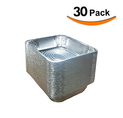 Best Choice Extra Heavy Disposable Aluminum Foil Pans 30