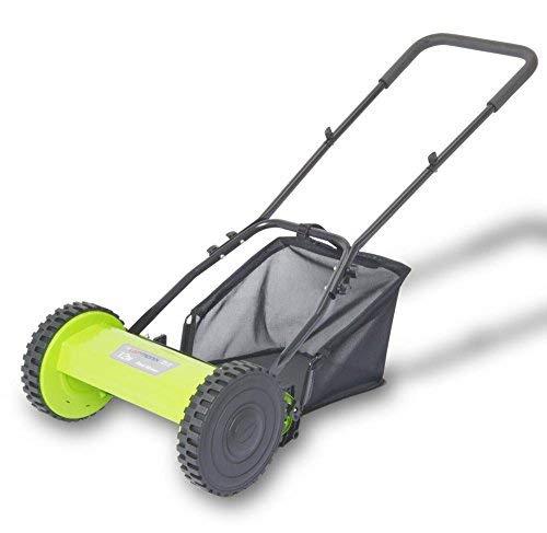 YesUKDirect Laptronix Manual Lawnmower Grass Cutter Hand Cylinder Mower...
