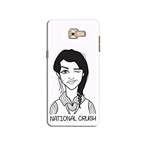 Cover It Up - National Crush Galaxy C9 Pro Hard Case