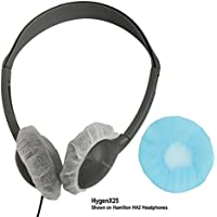 HamiltonBuhl Disposable Ear Cushion Covers, Blue, 2.5 Personal, 50 Pair