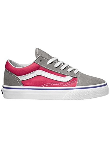 Vans Old Skool, Unisex-Kinder Sneakers (pop) purple iris/rose re