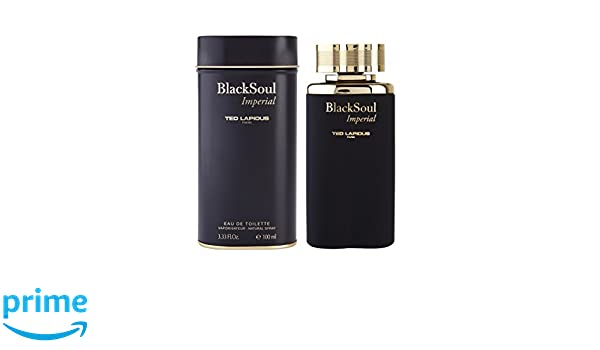 Ted Lapidus Black Soul Imperial - Agua de toilette, 100 ml: Amazon.es: Belleza