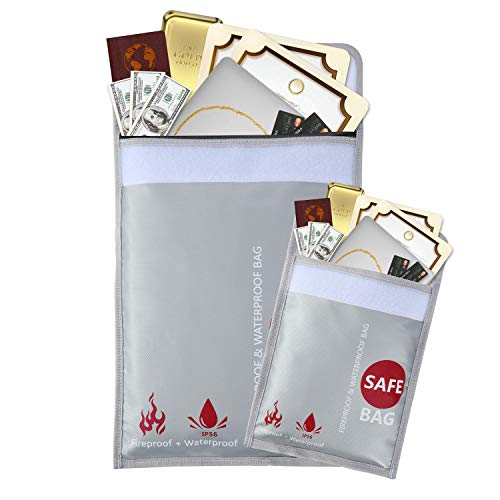 - GEMEK Fireproof Document Bags 15