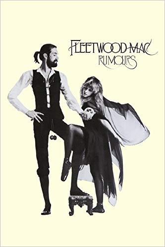 Fleetwood Mac Poster - Buyartforless Fleetwood Mac Rumours 1977 36x24 Music Poster, Print, Decorative Accent, Wall Art Multi-Color