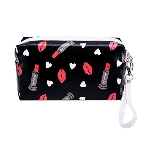 ℬeauty Eve Multi-Function Travel Storage Bag Hand-Held Printing Ladies Makeup Storage Bag