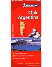 Chile/Argentine Map 788 - Map Country