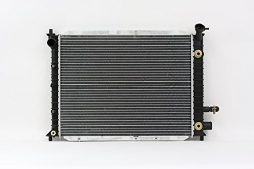 Radiator - Pacific Best Inc For/Fit 2140 98-03 Ford Escort ZX2 Coupe AT Plastic Tank Aluminum Core - Ford Escort Condenser