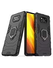 Capa Case Capinha Anti Impacto 4 Em1 Suporte Xiaomi Poco x3 PRO (PRETA)