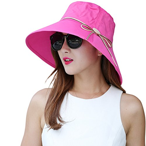 Large Rose Sun Hat - 5