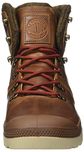 Palladium Herren Pallab Hikr H Hohe Sneaker Braun (Sunrise/red/safari)