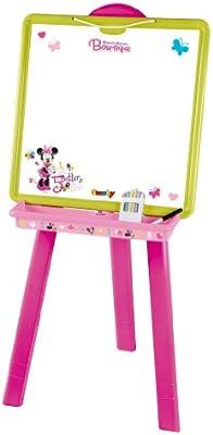 Disney - Pizarra Minnie más Accesorios para Colorear (Smoby 28069)