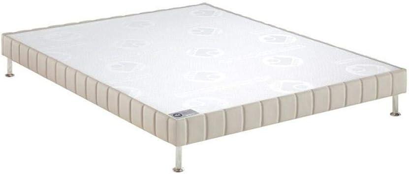 Bultex somier Confort Granja Piedra 120 * 190 cm de Listones ...