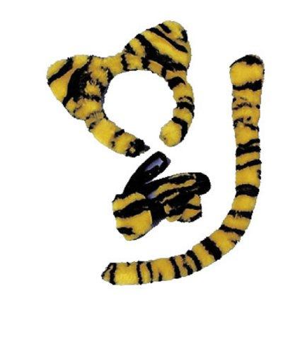 Morris Custumes Women's Tiger Accessory Kit One Size Animal Print (Tiger Costume Halloween Express)