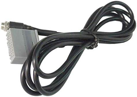 Cable Adaptador de Audio AUX 3,5 mm Hembra para Honda Accord Civic CRV Apple iPhone iPod