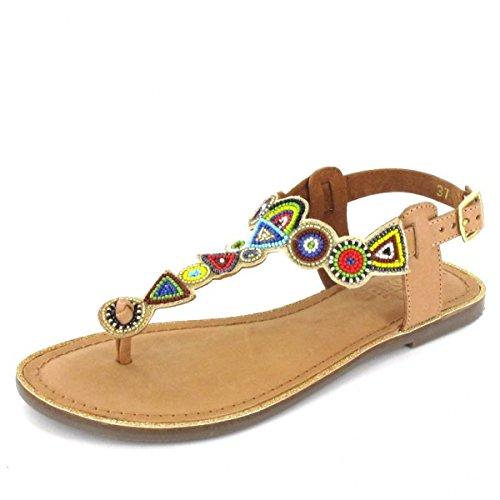 Bullboxer Sandalette , Farbe: Braun