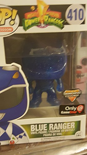 Power Rangers – Blue Ranger Morphing Clear Pop! Vinilo F