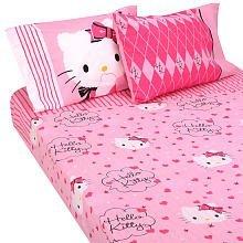Hello Kitty Sweet and Sassy Full Sheet Set