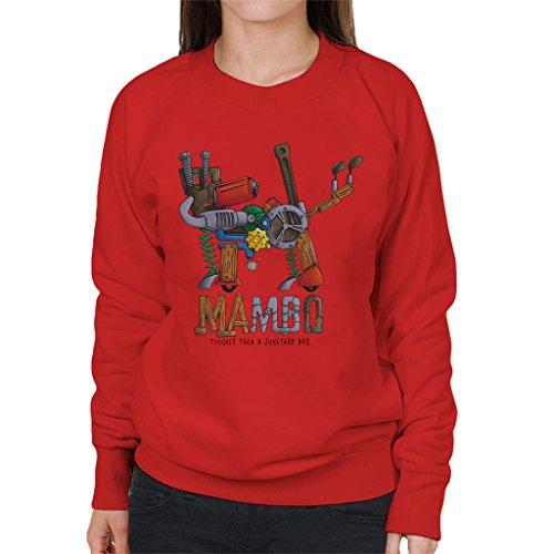 Official Mambo Mambo Junk Yard Dog Women's Sweatshirt -