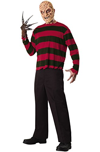 Rubie's Men's A Nightmare On Elm Street: Freddy Krueger Costume, As Shown, Standard ()