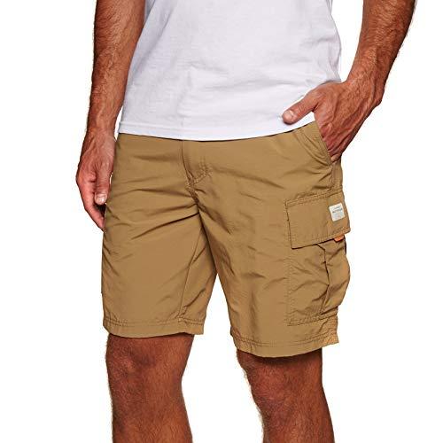 Quiksilver Waterman Skipper Cargo Walk Shorts 34 inch British Khaki