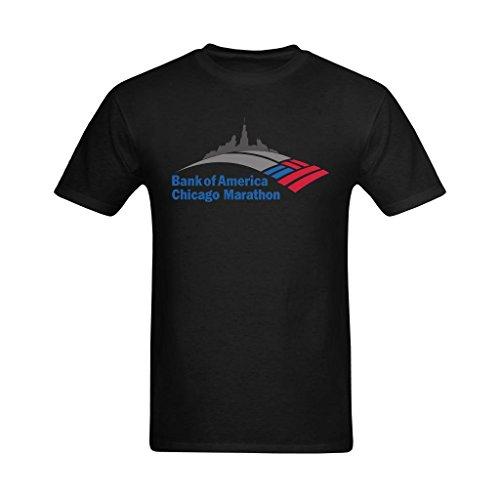 youranli-mens-bank-of-america-chicago-marathons-logo-t-shirt-xs