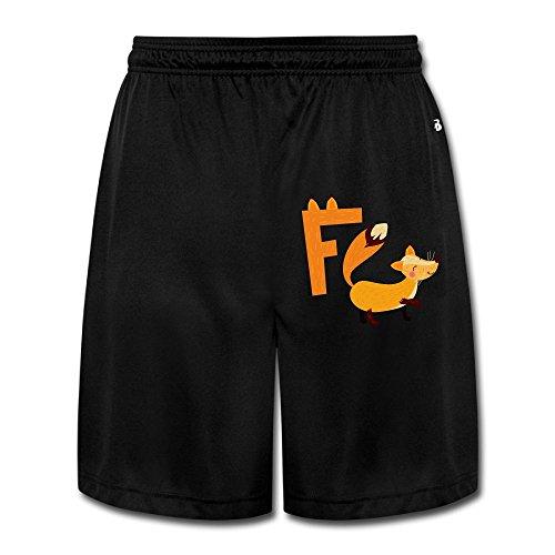 Fox F Men's Short Pants Yoga Sweatpants Performance Shorts Workout Sweatpants Gym Sweatpants XL (Fox News The Five Halloween Costumes)