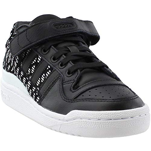adidas Womens Forum Low Athletic Black 7