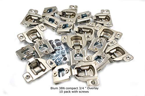 - Blum 105 Degrees Compact 38N Series 3/4