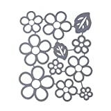 callm Christmas Cutting Dies, Flowers Edge Gifts Paper Card Making Metal Die Cut Stencil Template for DIY Scrapbook Photo Album Embossing Craft Decoration (C)
