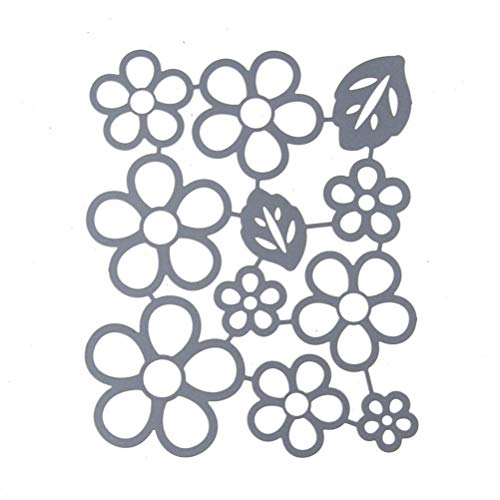 callm Christmas Cutting Dies, Flowers Edge Gifts Paper Card Making Metal Die Cut Stencil Template for DIY Scrapbook Photo Album Embossing Craft Decoration (C) by callm (Image #3)