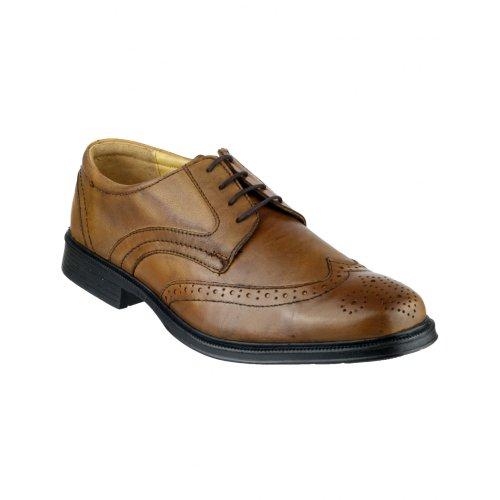 Cotswold - Zapatos de Cordones Hombre Marrón tostado