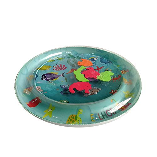 Orcbee  _Inflatable Baby Water Mat Fun Activity Play Center for Children & Infants