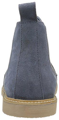Kickers Tyga, Zapatillas de Estar por Casa para Mujer, Azul azul (Marine)