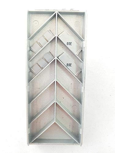 Iscar DGL 2200JS-15D Hartmetall-Einsätze, IC308 Spitzen #I3, 4 Stück