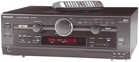 Panasonic SA-HE100K Home Theater Receiver Discontinued by Manufacturer