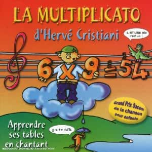 Les tables de multiplications music for Les table de multiplications