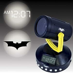 Amazing Batman Signal Projection Alarm Clock - Projects The Bat Signal