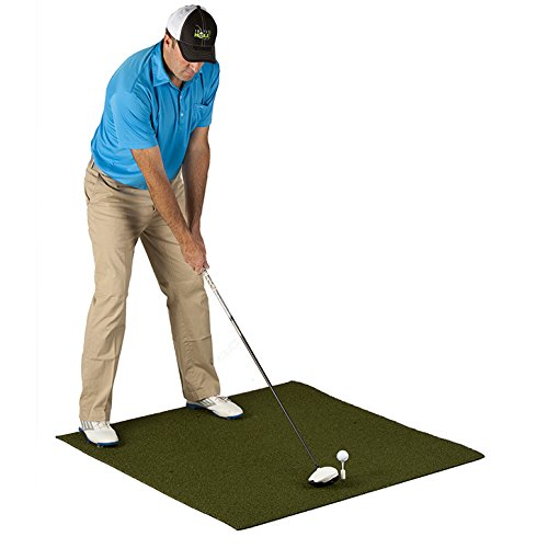 PureShot Pure Golf Hitting Mat (4'x4′)