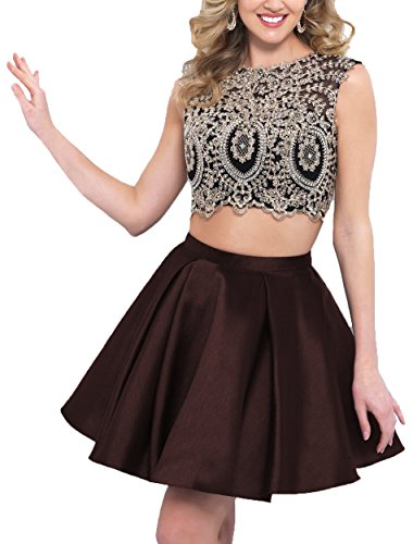 Chocolate Drop Waist Dress - 3